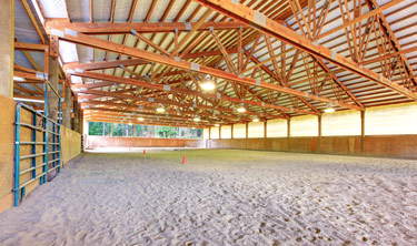 simply shocking electric arena and horse barn lighting horse arena stalls electrician oregon city clackamas or portland