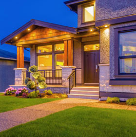 Outdoor Lighting Contractor in Oregon City and Portland OR from Simply Shocking