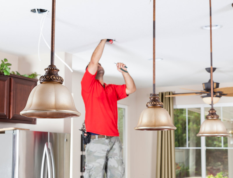 Electrical remodeling for your kitchen and bathroom